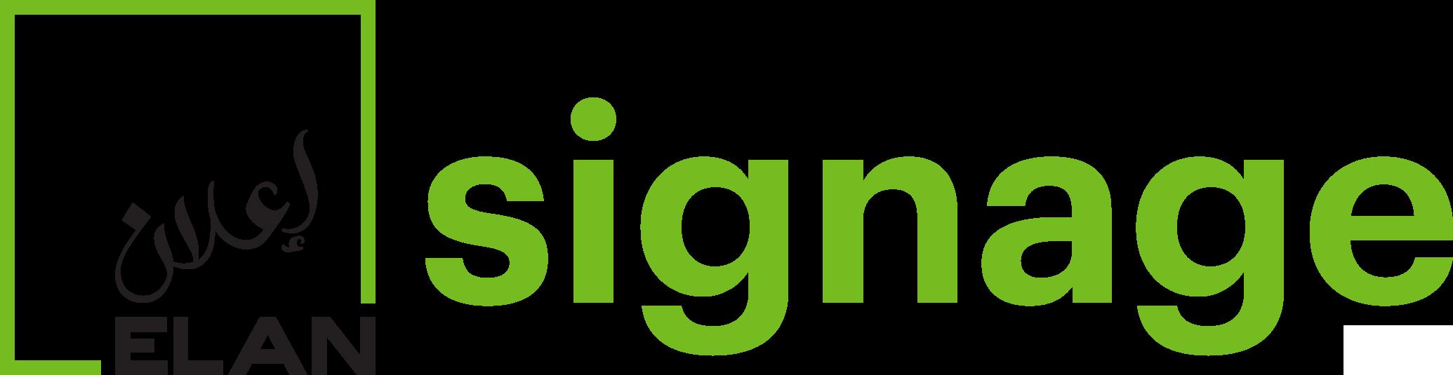 ELAN Signage logo